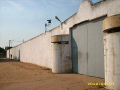 Hochsicherheitsgefängnis in Maputo, Mosambik