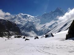 Berge in Nepal